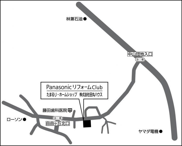 たまるリ・ホームショップの地図