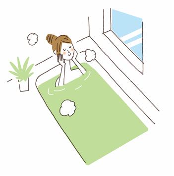 リラックスできるお風呂