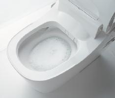 トイレの激落ちバブル