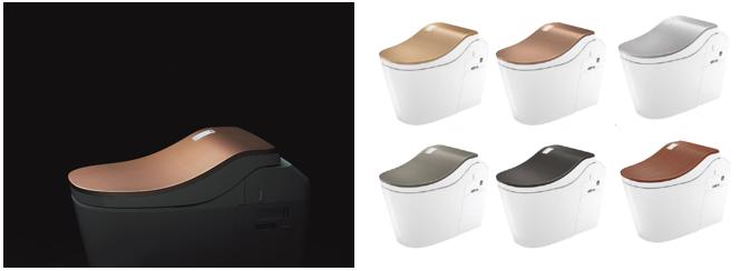 トイレの蓋の色
