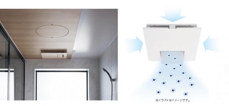 カビシャット暖房換気乾燥機